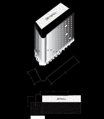 square metal cornerbead clinch on cornerbead company
